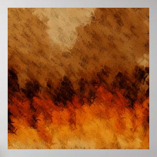 Autumn Twilight Poster
