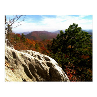 Autumn View from Dragon's Tooth Postcard