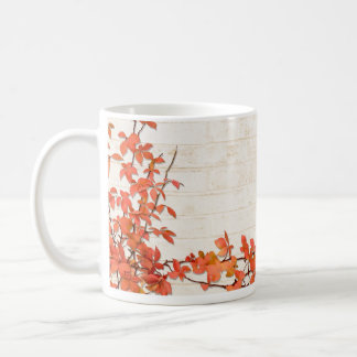 Autumn Vine Basic White Mug
