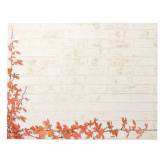 Autumn Vine Wedding Notepad