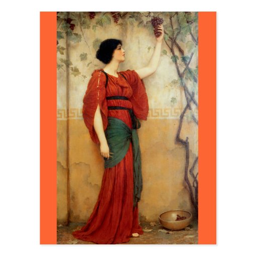 Autumn - Vintage Motive - Godward Post Cards