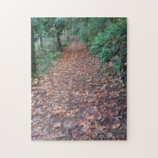 Autumn walk jigsaw puzzle