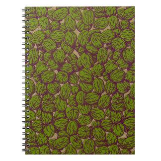 Autumn Walnuts Note Books