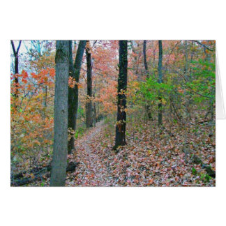 Autumn Was Meant For Hiking Greeting Card