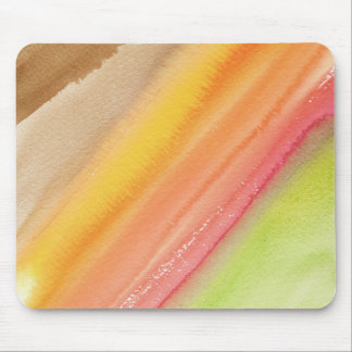 Autumn watercolor mouse pad