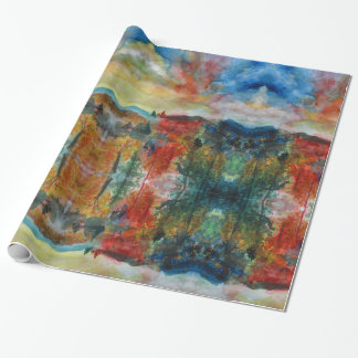 Autumn  Watercolor   Wrapping Paper