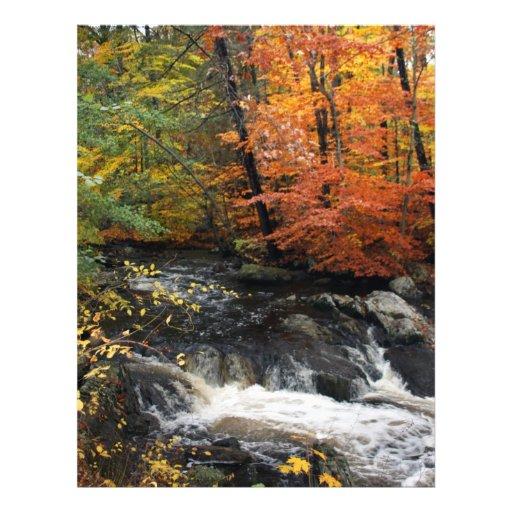 Autumn Waterfall Flyers