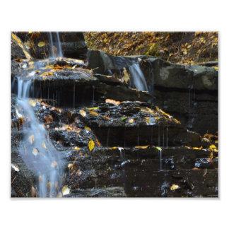 AUTUMN WATERFALL PHOTO ART