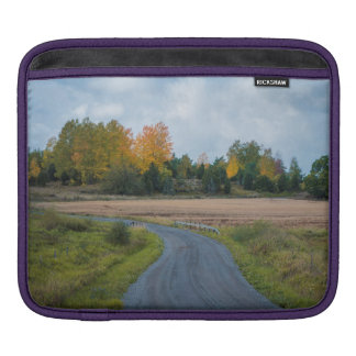 Autumn Way iPad Sleeve