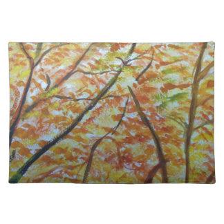 autumn way place mat