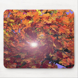 Autumn Whirl Mouse Pads