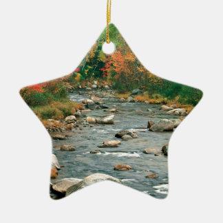 Autumn White Mountains New Hampshire Christmas Ornament