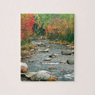 Autumn White Mountains New Hampshire Jigsaw Puzzle