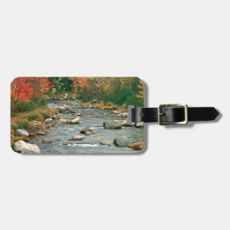 Autumn White Mountains New Hampshire Tag For Bags