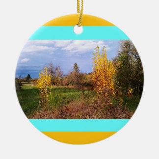 Autumn Wildlife Refuge Christmas Ornament