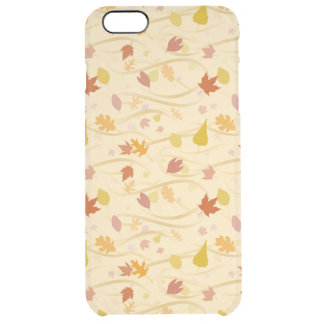 Autumn Wind Background Clear iPhone 6 Plus Case