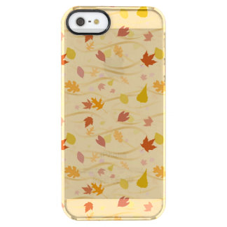 Autumn Wind Background Clear iPhone SE/5/5s Case