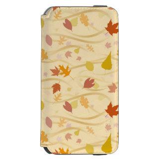 Autumn Wind Background Incipio Watson™ iPhone 6 Wallet Case
