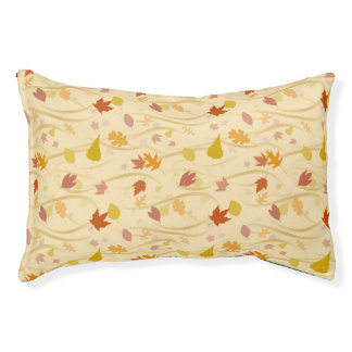 Autumn Wind Background Pet Bed