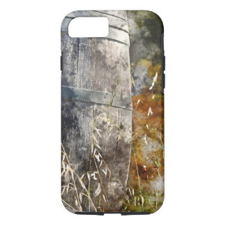 Autumn Wine Barrel in a Vineyard iPhone 8/7 Case
