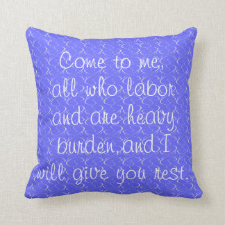 Autumn/Winter Bible Verse Pillow