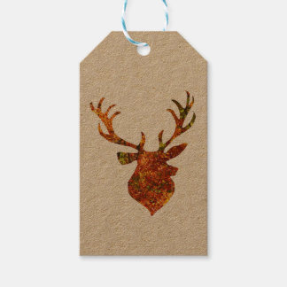 Autumn/Winter Stag Gift Tags