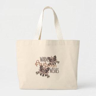 Autumn Wishes Jumbo Tote Bag