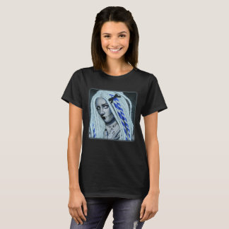 Autumn Witch Gothic Fantasy Art T-shirt