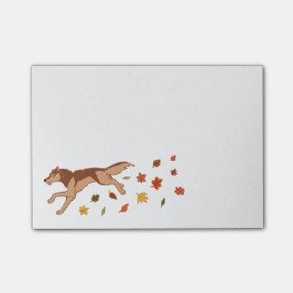 Autumn Wolf Post-it® Notes