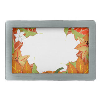 autumn wreath belt buckle