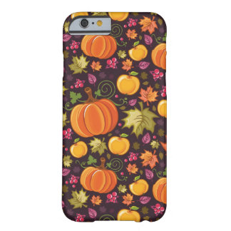 Autumnal background barely there iPhone 6 case