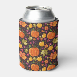 Autumnal background can cooler