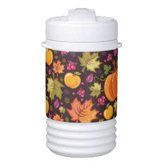 Autumnal background drinks cooler