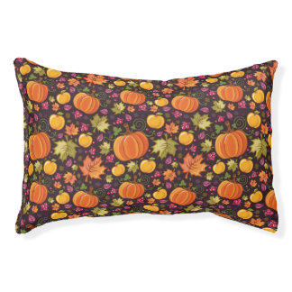 Autumnal background pet bed