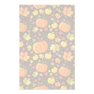 Autumnal background stationery