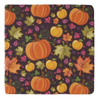 Autumnal background trivet