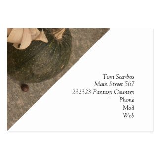 autumnal decoration pack of chubby business cards