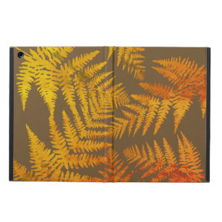 Autumnal ferns. iPad air case