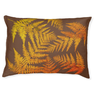 Autumnal ferns. pet bed