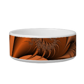 Autumnal Fractal Bowl