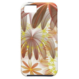 Autumnal Fractal Flowers Case For The iPhone 5
