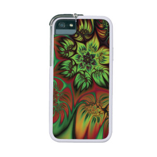 Autumnal Fractal Flowers Case For iPhone 5