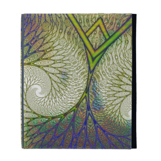 Autumnal Fractal Tree iPad Folio Cases