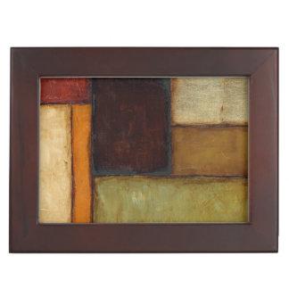 Autumnal Impressionist by Jennifer Goldberger Keepsake Box