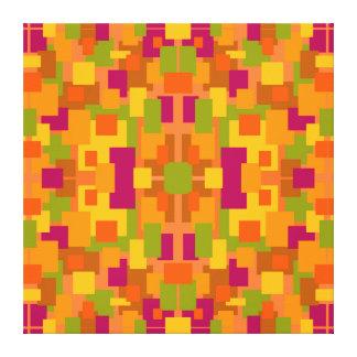 Autumnal Patch 2 D Fractal Canvas Print