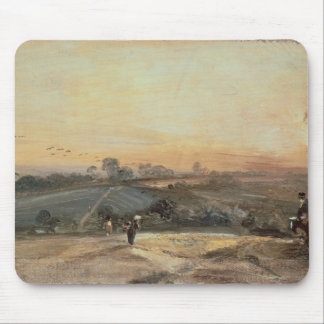 Autumnal Sunset Mouse Mat