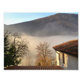 Autumnal tendency in the marks - Italy Photo Print