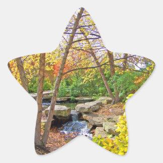 Autumn's Beauty Star Stickers