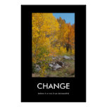 Autumn's Edge Beautiful Change Poster