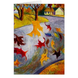 Autumn's End Card